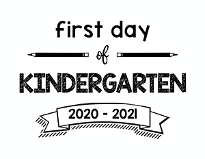 thumbnail of First Day of Kindergarten 2020 – 2021