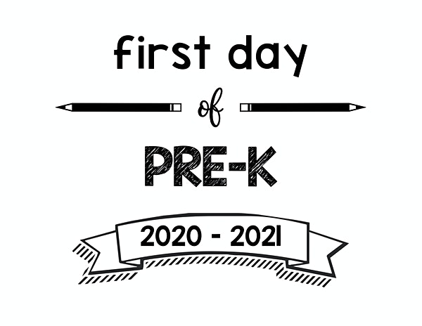 thumbnail of First Day of PreK 2020 – 2021