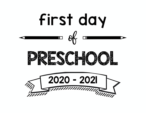 thumbnail of First Day of Preschool 2020 – 2021