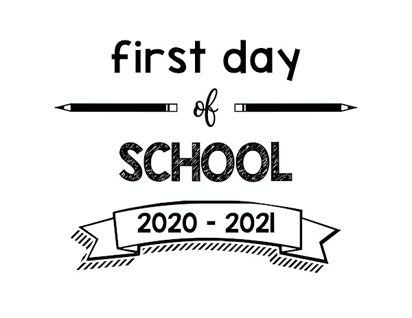 thumbnail of First Day of School 2020 – 2021
