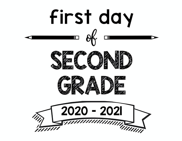 thumbnail of First Day of Second Grade 2020 – 2021