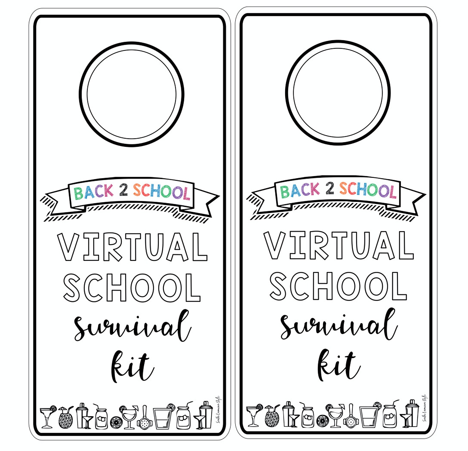 thumbnail of back to school survival hangtags