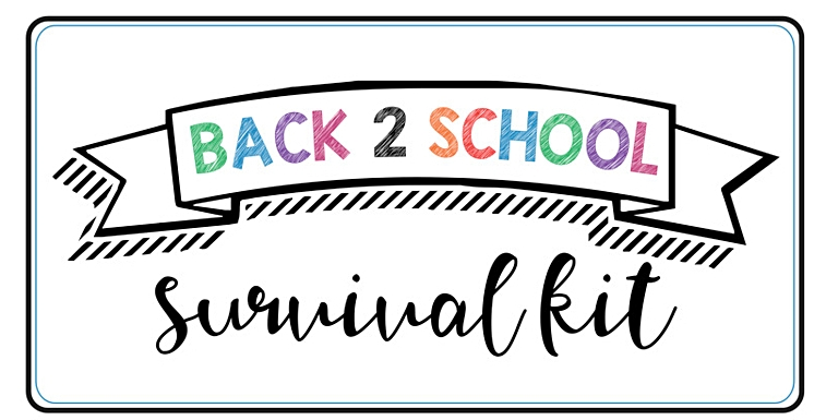 thumbnail of back to school survival kit signs