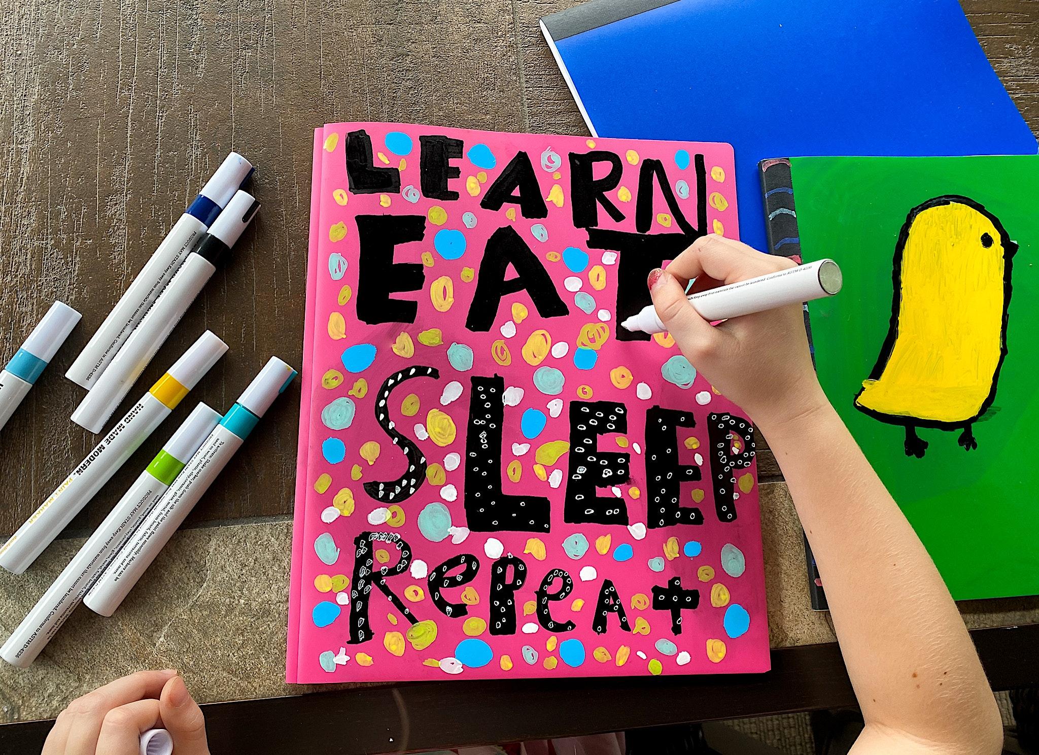 personalize school supplies