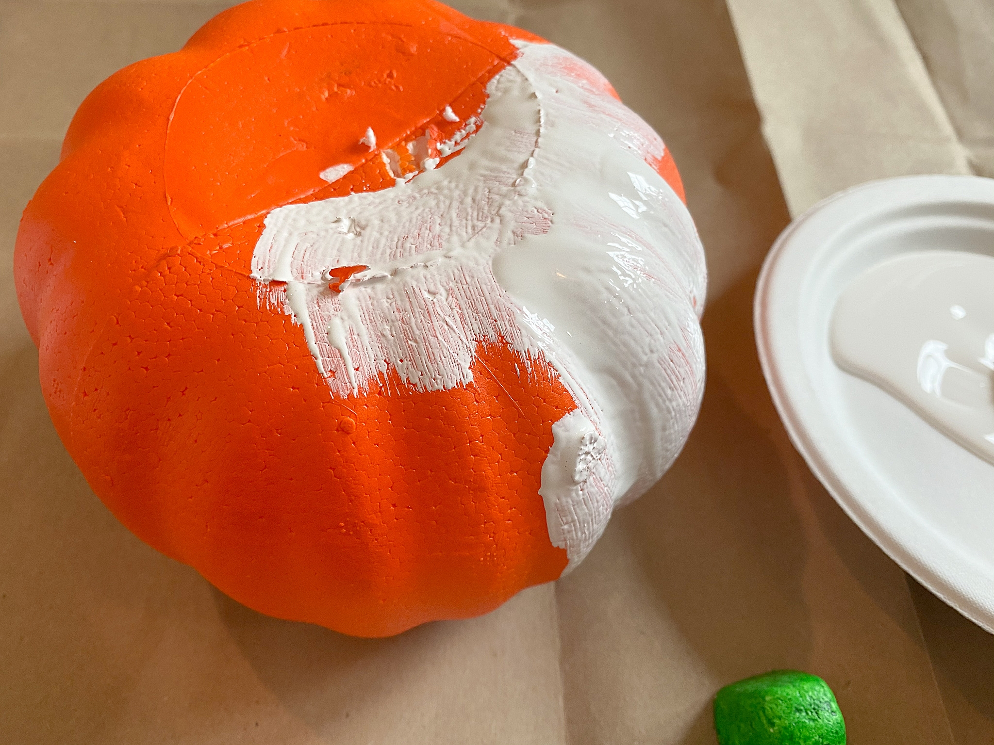 Dollar Store Pumpkin DIY