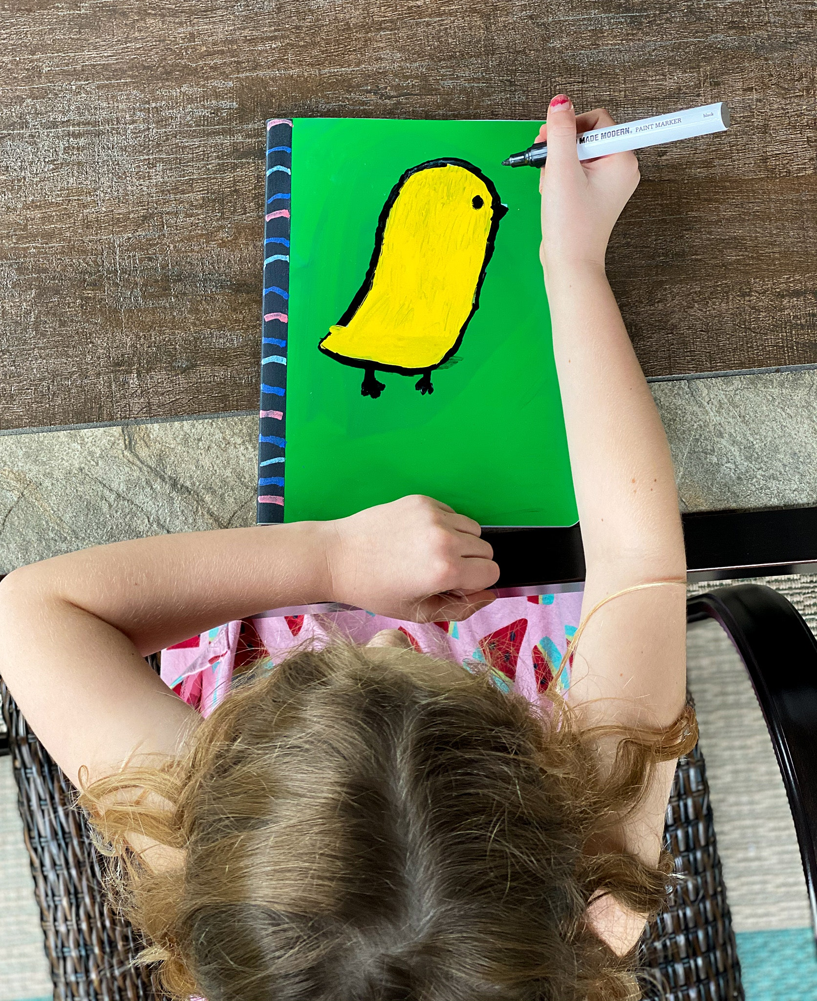 diy school supplies personalize with paint pens