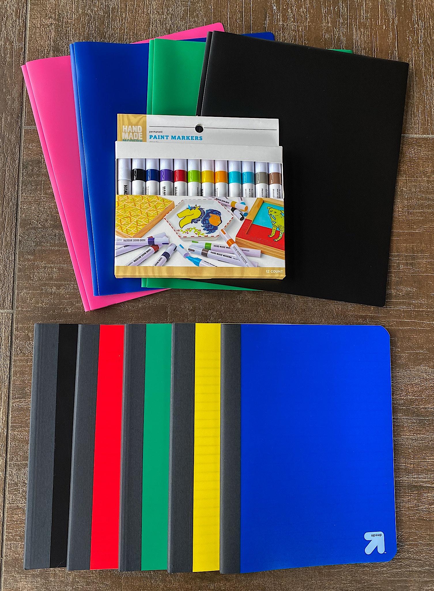 diy school supplies paint pens