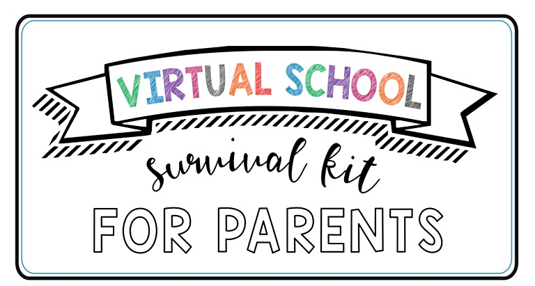 virtual school survival kit for parents