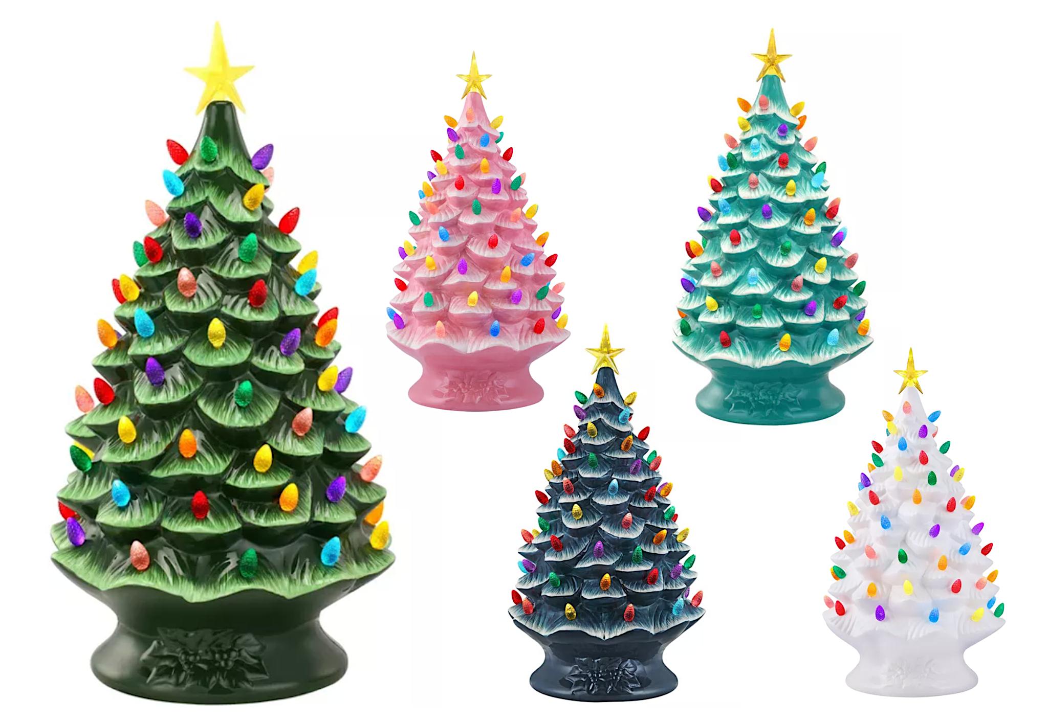 mr christmas ceramic christmas tree