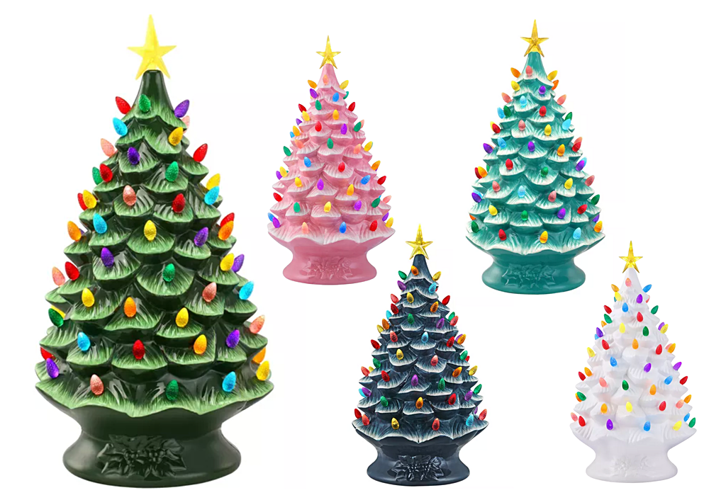mr christmas ceramic christmas tree