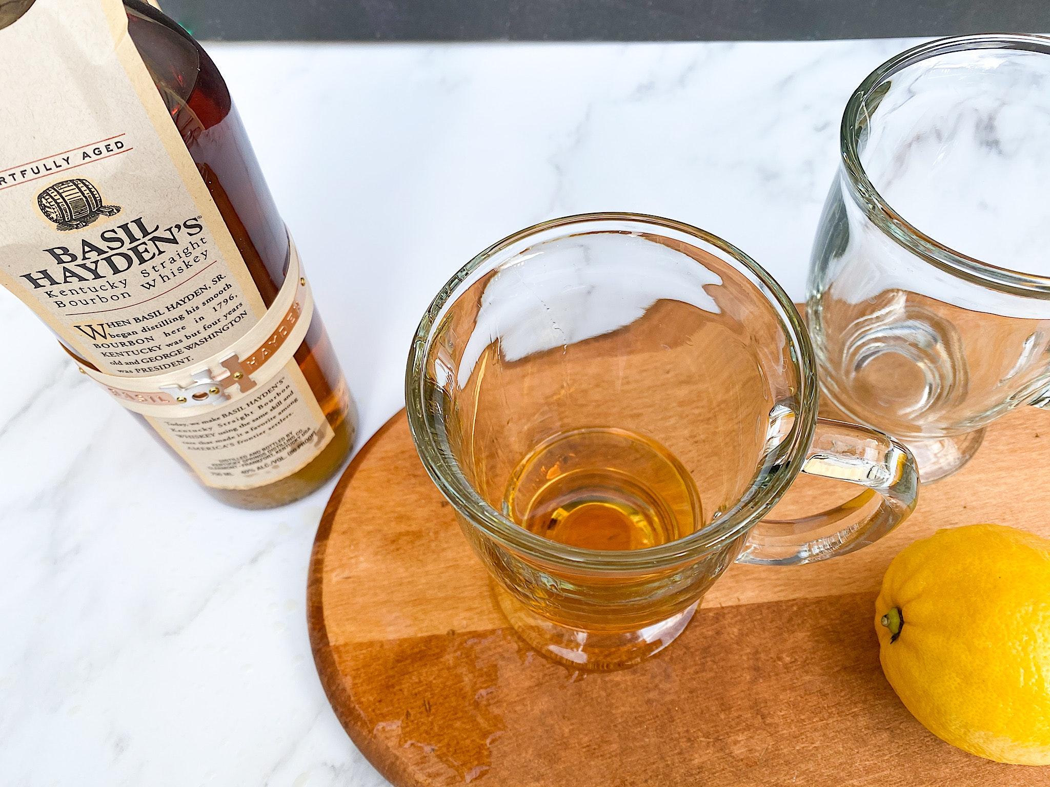 honey bourbon hot toddy