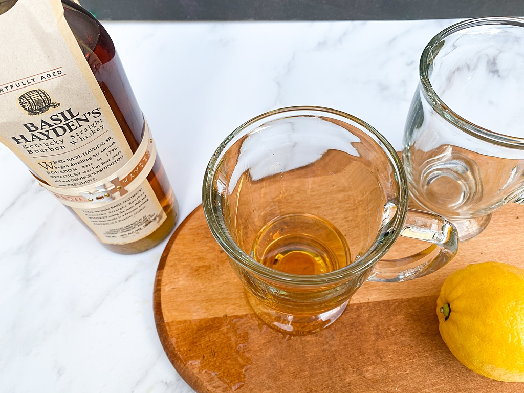 honey bourbon hot toddy