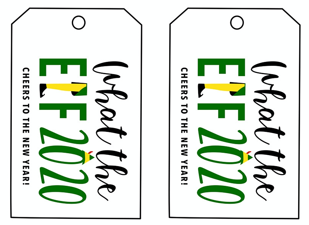 thumbnail of what the elf 2020 printable gift tags