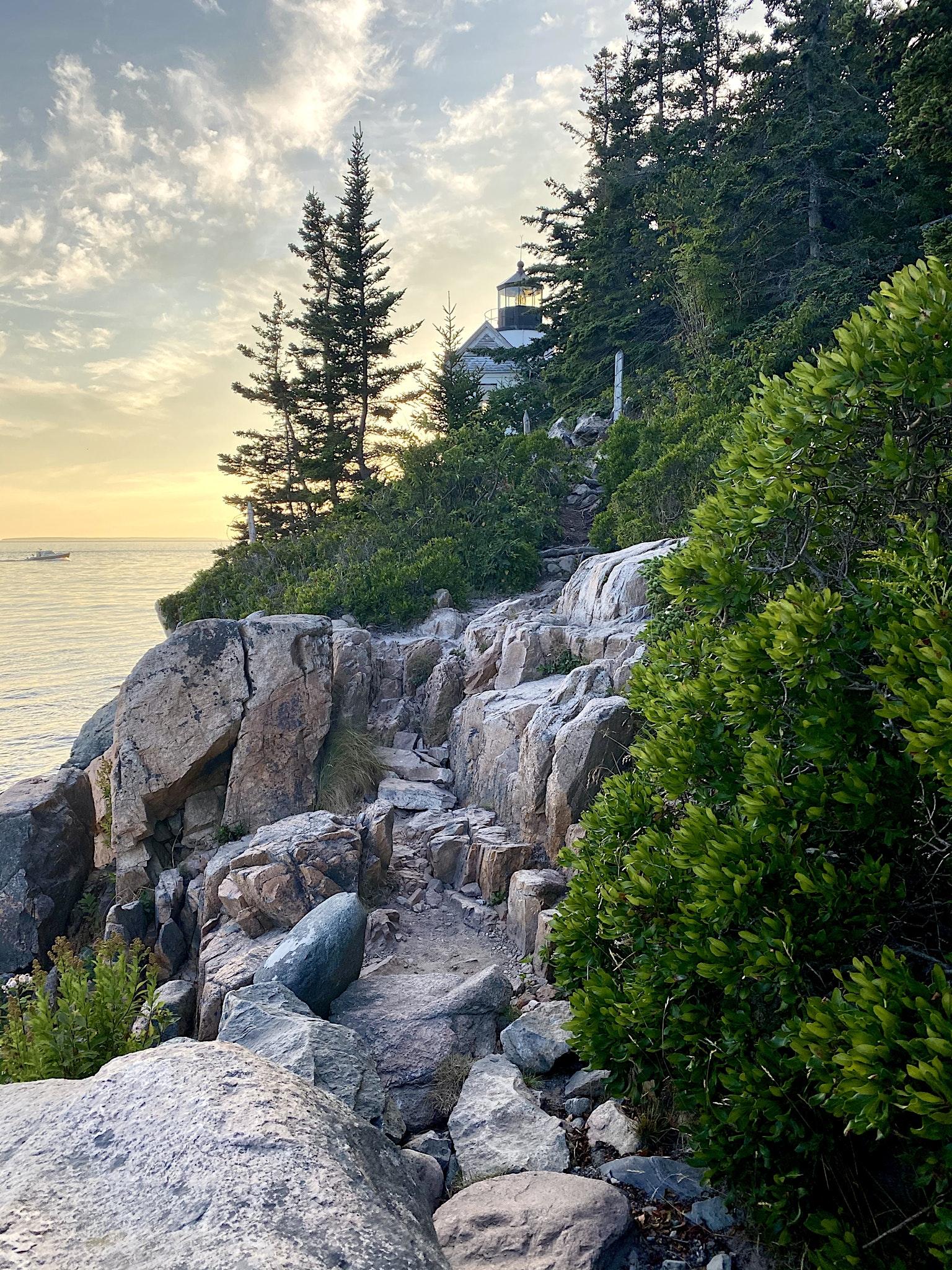 Bass Harbor Head Light Mt Desert Island Maine