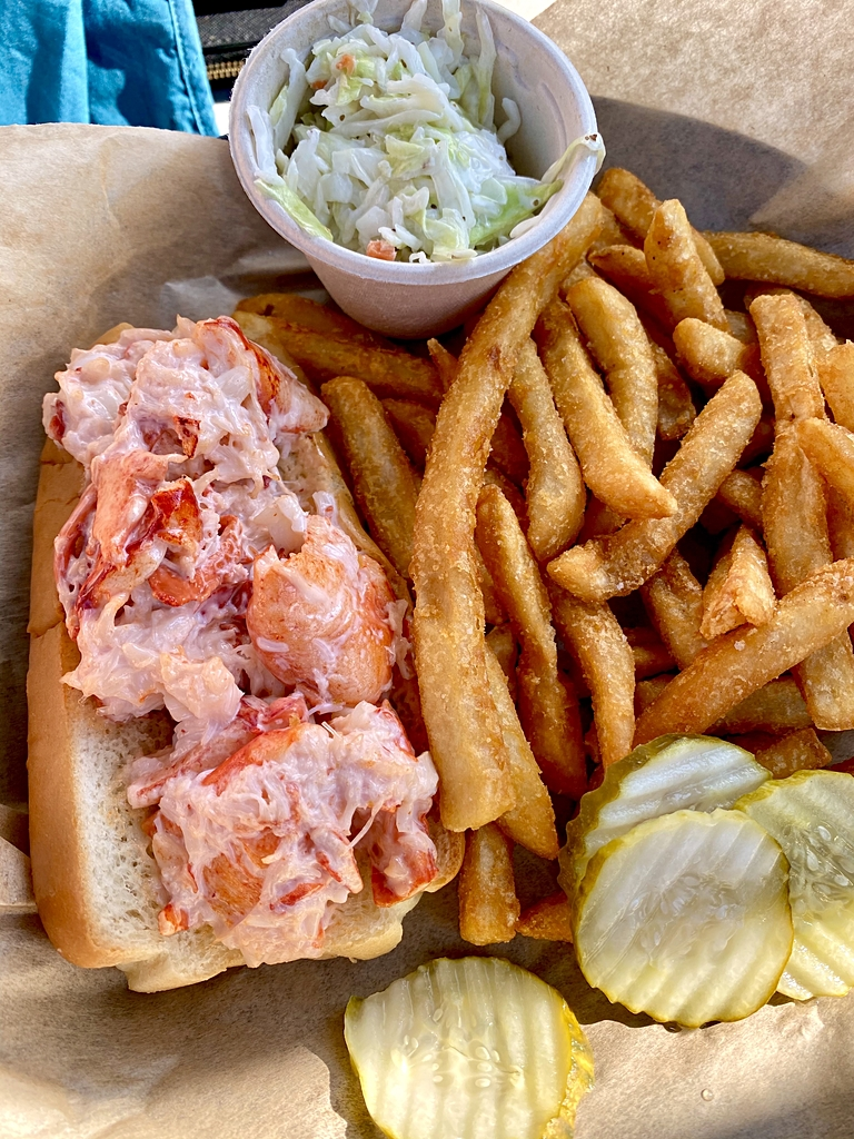Lobster Roll Bar Harbor Maine