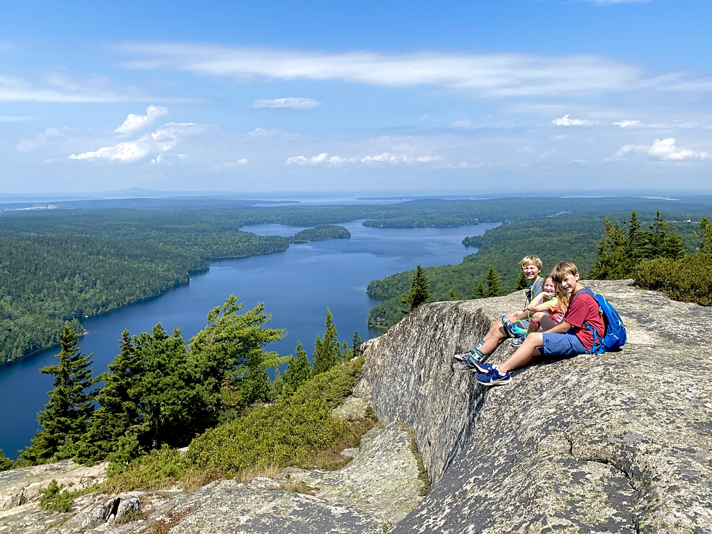 Hiking in Acadia National Park with Kids