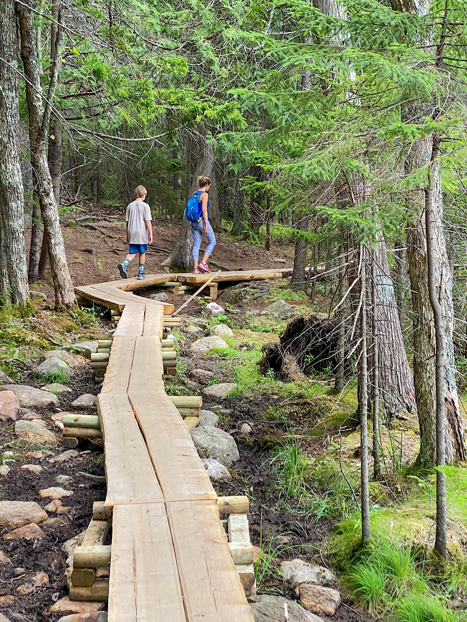 jordan pond trail acadia national park