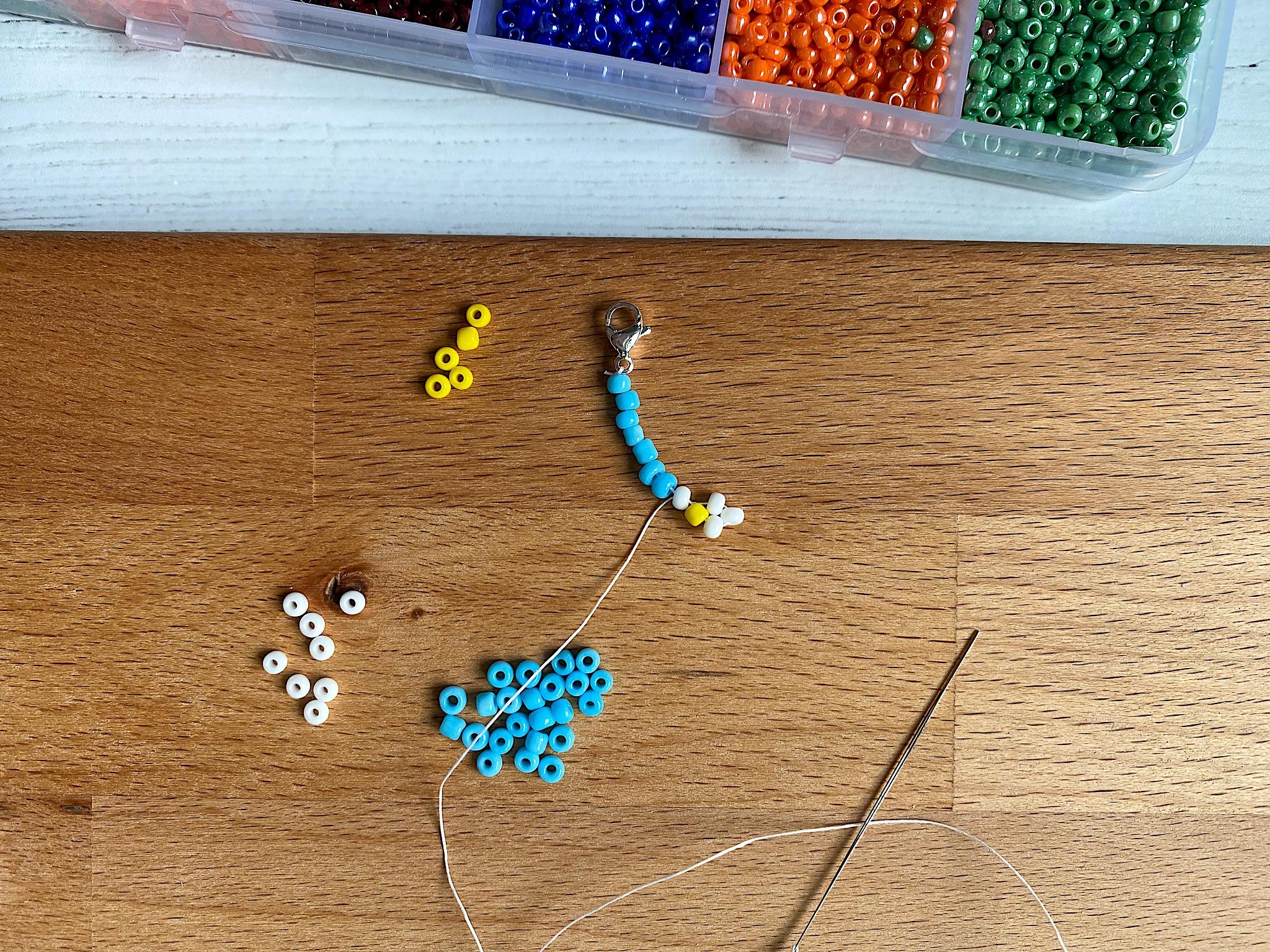 diy daisy chain necklace summer craft
