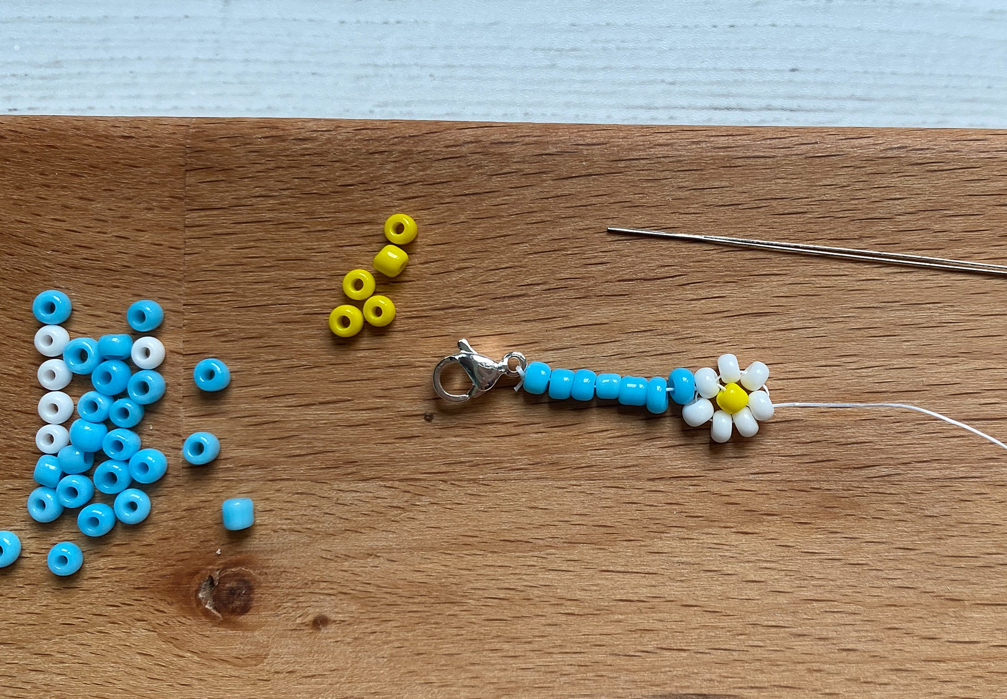 daisy chain necklace craft