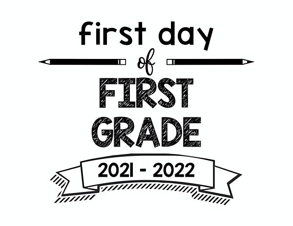 thumbnail of First Day of First Grade 2021 – 2022