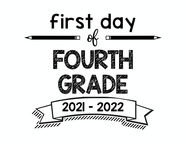 thumbnail of First Day of Fourth Grade 2021 – 2022