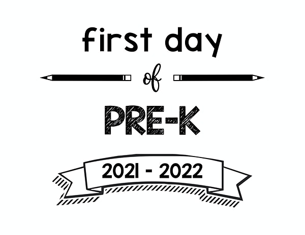 thumbnail of First Day of PreK 2021 – 2022