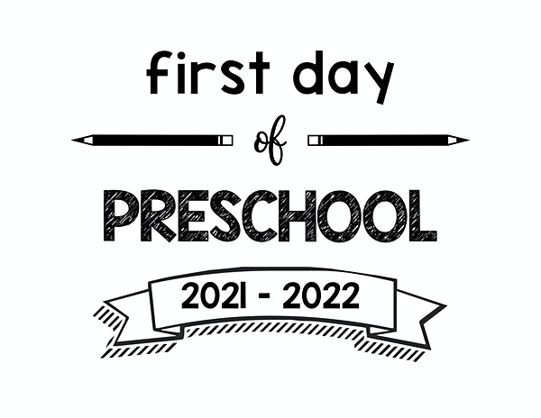 thumbnail of First Day of Preschool 2021 – 2022