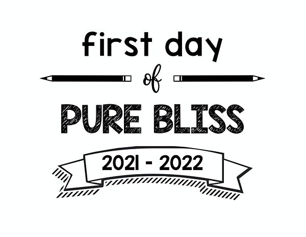 thumbnail of First Day of Pure Bliss 2021 – 2022